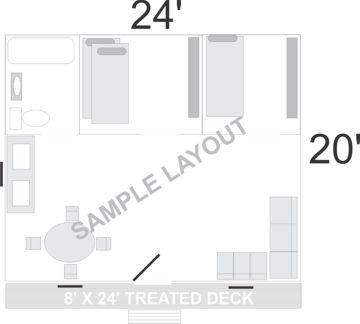 Camp 24 X 20 Deluxe